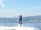 【静岡・浜名湖】<水圧で空を飛ぶ!>フライボード初回体験コース【初めての方歓迎】の様子