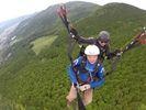 【鹿児島・霧島】パラグライダーで絶景を楽しもう!タンデムフライトコースの様子