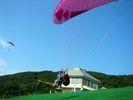 【新潟・尾神岳】パラグライダー観光タンデムフライト!の様子