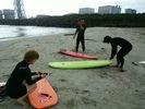 【茨城・ひたちなか】初めてのサーフィン。まずは体験スクールから。の様子