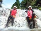【岐阜】キャニオニング&長良川ラフティング・1日コースの様子