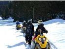 【長野・白馬】白銀で覆われた雪の上を滑走!スノーモービルツアー!の様子