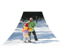 【山梨・富士山】富士山で滑る!スキーレッスンの様子