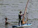 【茨城・大洗涸沼湖】ウインドサーフィン体験スクール(1日コース)の様子