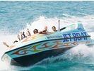 【沖縄・美ら海】話題沸騰!ジェットボート&パラセーリング体験の様子