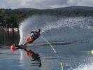 【山梨・山中湖】ウェイクボードまたは水上スキーで爽快気分!コースいろいろ選択可能の様子