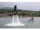 【山梨・山中湖】フライボードで空高くジャンプ!フライボードコースの様子
