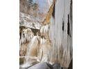 【北海道・千歳市支笏湖】氷の芸術 名瀑七条大滝スノーシューツアーの様子