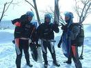 【北海道・千歳市支笏湖】アイス体験ダイブツアーの様子