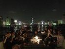 【東京・日本橋】きらめく夜景を堪能! 東京湾ナイトクルーズ<貸切・定員44名>の様子