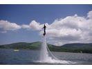 【山中湖】フライボードをお得にもっと!40分体験コース【午後】の様子