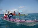 【鹿児島・屋久島】海のお散歩シーカヤック体験(半日コース)の様子