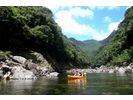 【鹿児島・屋久島】澄んだ川が魅力!カヤック体験(1日コース)の様子