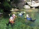 【鹿児島・屋久島】屋久島の自然を満喫!沢登り/シャワークライミング(半日コース)の様子