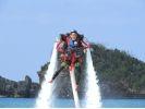 【沖縄・北部エリア/名護/本部/瀬底島】イチオシアクティビティ!ジェットパック体験(30分)の様子