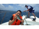 【沖縄・北谷】海人船長と半日船釣り【4時間・フィッシング】の様子