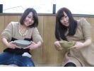 【兵庫県・電動ろくろ体験】神戸市内で陶芸体験!充実設備で本格的な電動ろくろ体験の様子