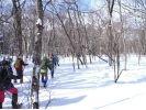【北海道・函館】スノーシューで森の中へ行こう!の様子