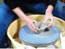 【北海道・陶芸体験】電動ろくろを使って小鉢を作ろうの様子