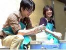 【愛知県・陶芸】オンリーワンの作品を作ろう!90分で電動ろくろプランの様子