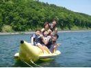 【山梨・山中湖】人気のバナナボート&SUPセットプラン!の様子
