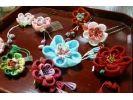【京都・左京区】江戸時代から伝わる伝統技法「つまみ細工」で花かんざし・髪飾りを作ろうの様子