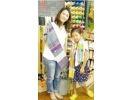 【広島・広島】楽しみながら自由に製作!手織りのストール・テーブルセンターを作ろうの様子