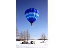 【北海道・知床】熱気球フリーフライトの様子