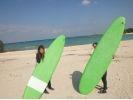 【沖縄 ・宜野湾】サーフィンスクールプランの様子