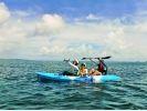 【沖縄・備瀬】綺麗な海へ繰り出そう♪ファミリーにおススメのシーカヤック体験!の様子