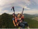 【茨城・石岡】パラグライダー いきなり空中散歩! タンデム(二人乗り)フライト体験コースの様子