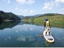 【熊本・球磨川】大興奮!注目のリバーサップ(River SUP)★1日体験ツアーの様子