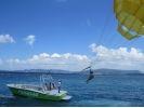 【沖縄・北部エリア/水納島】水納島パラセーリング&ボートダイビング半日コースの様子