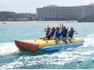 【沖縄・恩納村】お得なパックで遊びつくせ! 3メニューがセットになったショートマリンパックの様子