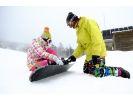 【長野・白馬村】雪と遊ぼう!山で遊ぼう!スノーボードレッスン《初心者コース》の様子