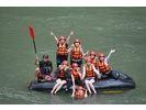 【熊本・球磨川】日本三大急流の一つ!球磨川でラフティング体験(BBQ付き:1日コース)の様子