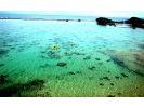 【沖縄・青の洞窟】真栄田岬でカヤックとシュノーケリングのセットの様子