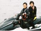 【山梨・山中湖】夏の山中湖で「風になれ!」マリンジェット体験!の様子