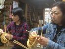 【大分・宇佐】山里でのんびり、竹かご製作体験〔約1時間〕の様子