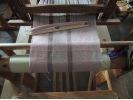【群馬・桐生】模様のあるストールを手織りしよう〔手織り体験〕の様子