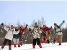 【栃木・日光】湯西川温泉かまくら祭スノーシュー体験ツアー(未経験者~初心者向け)の様子