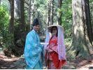 【和歌山・勝浦・着物レンタル】平安衣裳着付け体験のモデルコースの様子