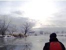 【北海道・釧路湿原】★冬季限定★ ウインターカヌー&湿原ウォッチングの様子
