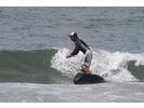 【石川・内灘海岸】サーフィン体験スクール(ロングボード)の様子