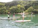 【滋賀・琵琶湖】SUP(サップ)半日体験スクール♪『びわ湖』で体験♪【初めての方、お一人様大歓迎!】の様子