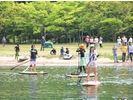 【滋賀・琵琶湖】1日じっくりSUPスクール♪日本一大きな湖『びわ湖』で【人気コース】の様子