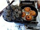 【北海道・富良野】小さなテントと魔法の鍋貸切スノーシューツアー(半日プラン)の様子