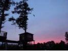 【北海道・十勝】1日1組限定★木造ツリーハウスで絶景露天風呂の様子
