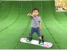 【神奈川・湘南・平塚】湘南平塚ではじめるお手軽スノーボード体験!の様子