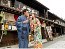 【愛知・犬山】レンタル着物で犬山散策♪「着物プラン」の様子